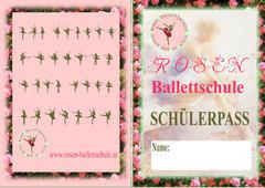 Der Rosen-Ballettschule Schuelerpass